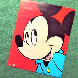 Vintage Mickey Mouse Poster #82157 (16x20)